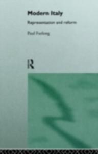 Ebook in inglese Modern Italy Furlong, Paul