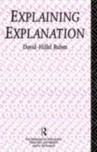 Ebook in inglese Explaining Explanation Ruben, David-Hillel