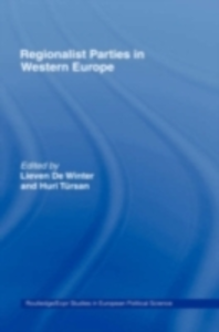 Ebook in inglese Regionalist Parties in Western Europe -, -