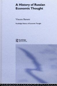 Ebook in inglese History of Russian Economic Thought Barnett, Vincent