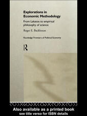 Explorations in Economic Methodology
