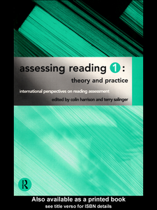 Ebook in inglese Assessing Reading 1 Harrison, Colin , Salinger, Terry