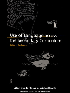 Ebook in inglese Use of Language Across the Secondary Curriculum
