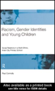 Foto Cover di Racism, Gender Identities and Young Children, Ebook inglese di Paul Connolly, edito da