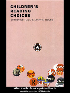 Ebook in inglese Children's Reading Choices Coles, Martin , Hall, Christine