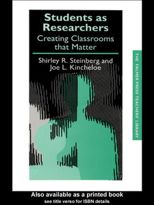 Foto Cover di Students as Researchers, Ebook inglese di Joe Kincheloe,Shirley Steinberg, edito da
