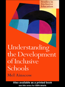 Ebook in inglese Understanding the Development of Inclusive Schools Ainscow, Mel