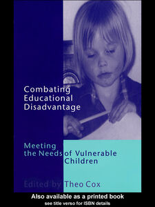 Ebook in inglese Combating Educational Disadvantage