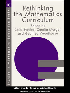 Foto Cover di Rethinking the Mathematics Curriculum, Ebook inglese di AA.VV edito da
