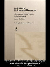 Institutions in Environmental Management