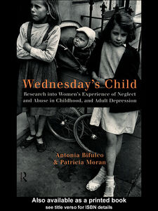 Ebook in inglese Wednesday's Child Bifulco, Antonia , Moran, Patricia
