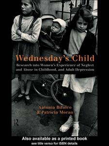Ebook in inglese Wednesday's Child Bifulco, Antonia , Moran, Patricia