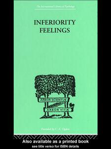 Foto Cover di Inferiority Feelings, Ebook inglese di Oliver Brachfeld, edito da