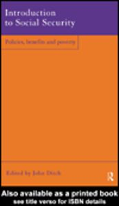 Foto Cover di Introduction to Social Security, Ebook inglese di John Ditch, edito da