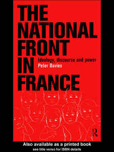 Foto Cover di The National Front in France, Ebook inglese di Peter Davies, edito da