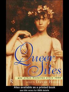 Foto Cover di Queer Sites, Ebook inglese di David Higgs, edito da