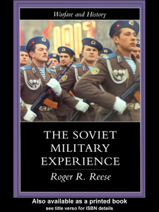 Ebook in inglese The Soviet Military Experience Reese, Roger R.