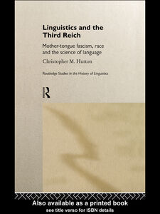Ebook in inglese Linguistics and the Third Reich Hutton, Christopher