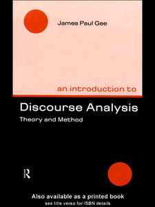 Ebook in inglese An Introduction to Discourse Analysis Gee, James Paul
