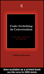 Ebook in inglese Code-Switching in Conversation