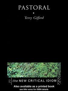 Foto Cover di Pastoral, Ebook inglese di Terry Gifford, edito da