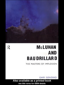 Ebook in inglese McLuhan and Baudrillard Genosko, Gary