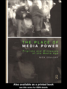 Ebook in inglese The Place of Media Power Couldry, Nick