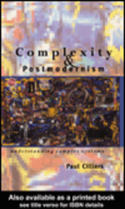 Ebook in inglese Complexity and Postmodernism Cilliers, Paul