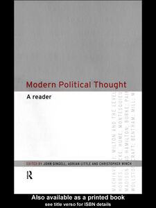 Ebook in inglese Modern Political Thought