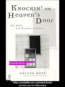 Foto Cover di Knockin' on Heaven's Door, Ebook inglese di Roland Boer, edito da