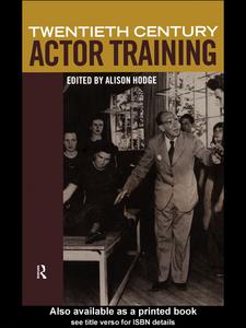 Ebook in inglese Twentieth-Century Actor Training