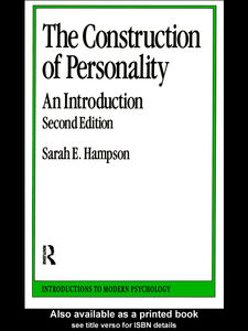 Ebook in inglese The Construction of Personality Hampson, Sarah E.