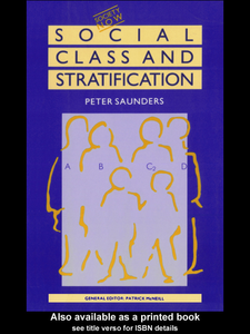 Ebook in inglese Social Class and Stratification Saunders, Peter
