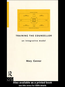 Foto Cover di Training the Counsellor, Ebook inglese di Mary Connor, edito da