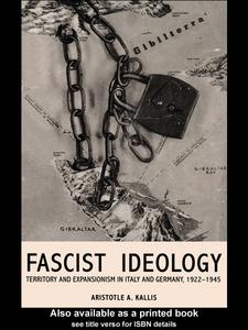 Ebook in inglese Fascist Ideology Kallis, Aristotle