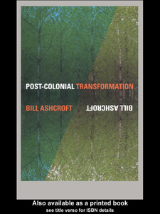 Ebook in inglese Post-Colonial Transformation Ashcroft, Bill