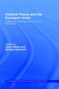 Ebook in inglese Political Theory and the European Union -, -