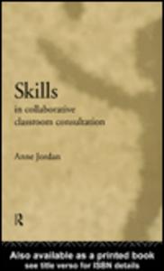 Ebook in inglese Skills in Collaborative Classroom Consultation Jordan, Anne