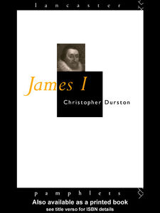 Foto Cover di James I, Ebook inglese di Christopher Durston, edito da