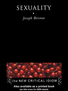 Ebook in inglese Sexuality Bristow, Joseph