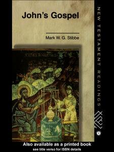 Ebook in inglese John's Gospel Stibbe, Mark W.G.