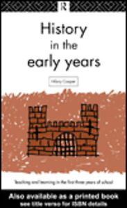 Ebook in inglese History in the Early Years Cooper, Hilary