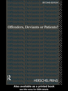 Foto Cover di Offenders, Deviants or Patients?, Ebook inglese di Herschel Prins, edito da