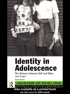 Ebook in inglese Identity In Adolescence Kroger, Jane