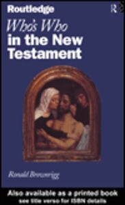 Ebook in inglese Who's Who in The New Testament Brownrigg, Ronald
