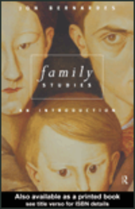 Ebook in inglese Family Studies Bernardes, Jon