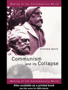 Ebook in inglese Communism and Its Collapse White, Stephen