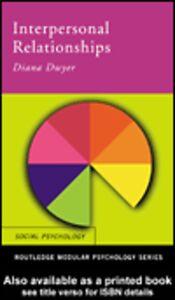 Foto Cover di Interpersonal Relationships, Ebook inglese di Diana Dwyer, edito da