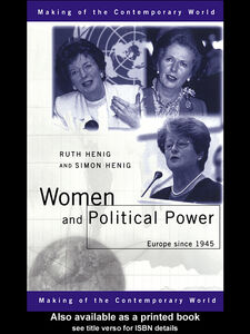 Ebook in inglese Women and Political Power Henig, Ruth , Henig, Simon