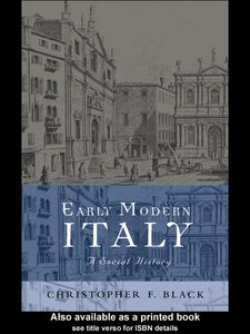 Ebook in inglese Early Modern Italy Black, Christopher